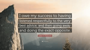 My favorite success quote