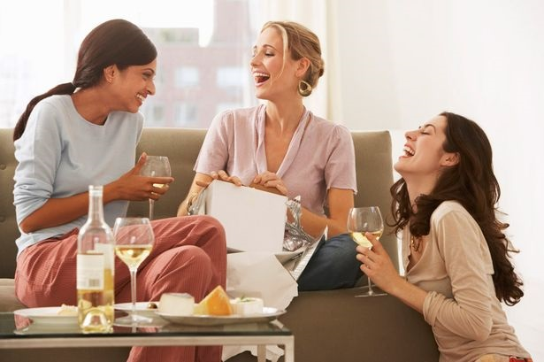 Women should spend more time with Friends