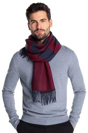 What To Buy The Man Who Has Everything - A cute scarf