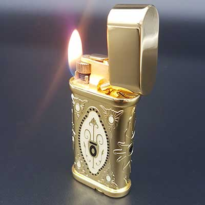 What To Buy The Man Who Has Everything - A lighter
