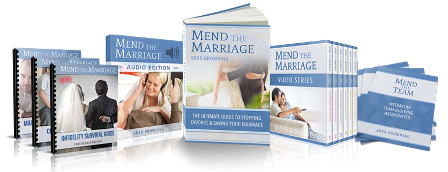 """""""Mend the Marriage"""" provides lots of information for healing your marriage"""