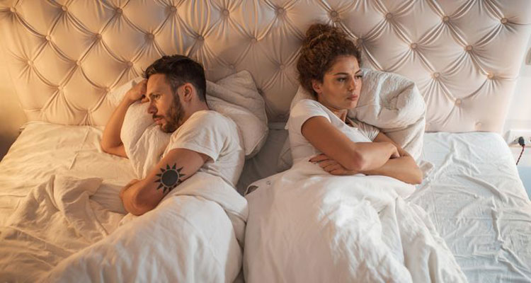 Another sign of a failing marriage is the lack of intimacy